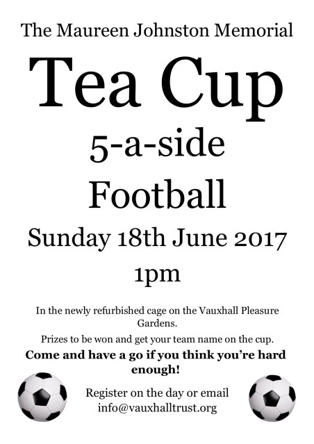 Tea Cup 18th June 2017 Poster